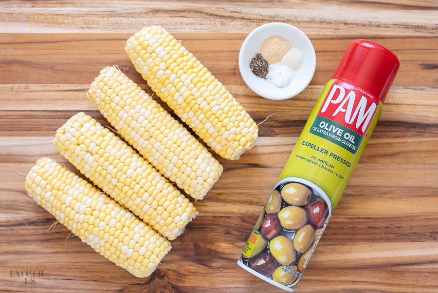 Air Fryer Corn on the Cob Ingredients
