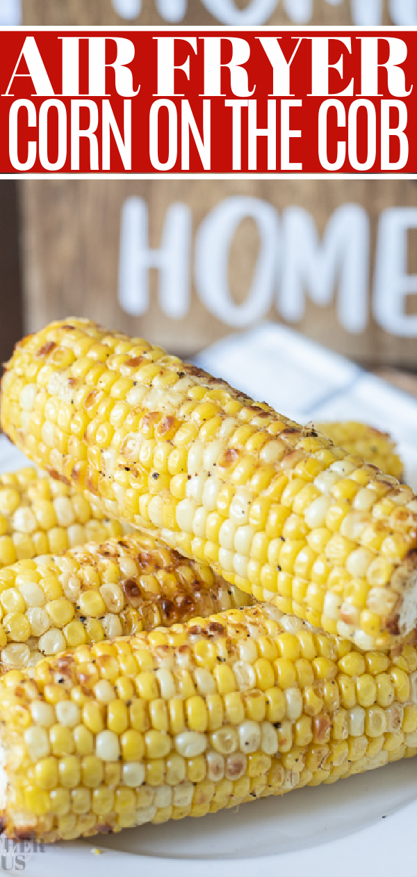 Air Fryer Corn on the cob pin 1