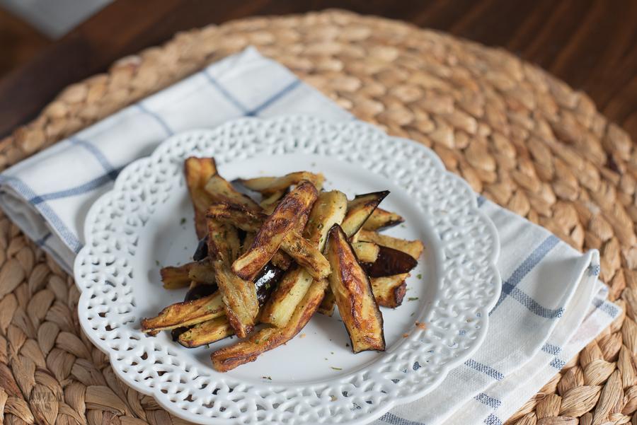 Gluten Free Eggplant In An Air Fryer