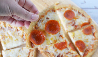 Easy Air Fryer Pizza