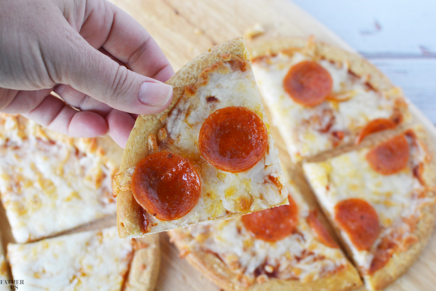 Air Fryer Pizza is a delicious, healthy family dinner.
