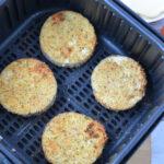 Cooking Eggplant Parmesan in Air Fryer