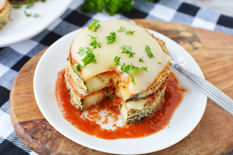 Eggplant parmesan in an Air Fryer